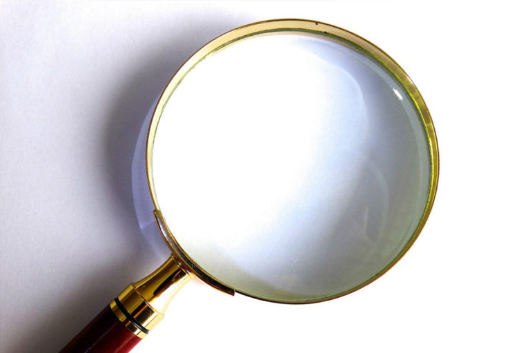 Afbeelding vergrootglas